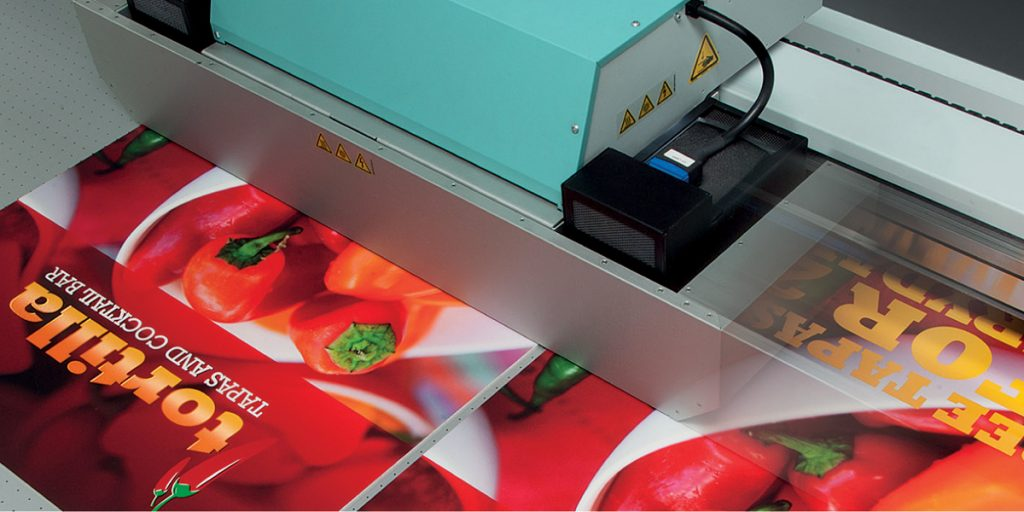 Acuity UV Flatbed Printer