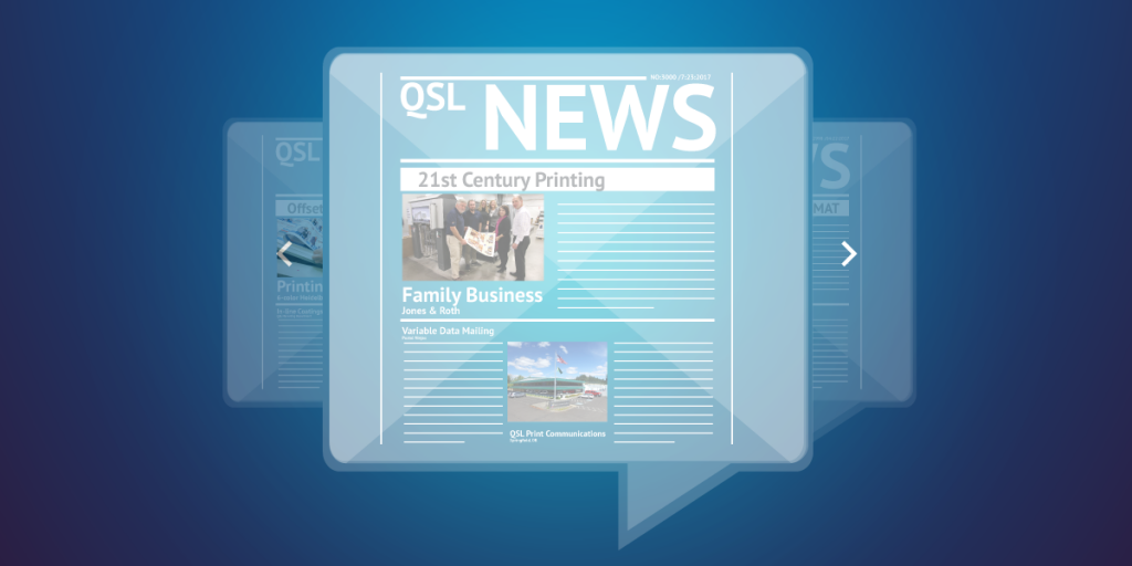 QSL Blog - Digital News graphic
